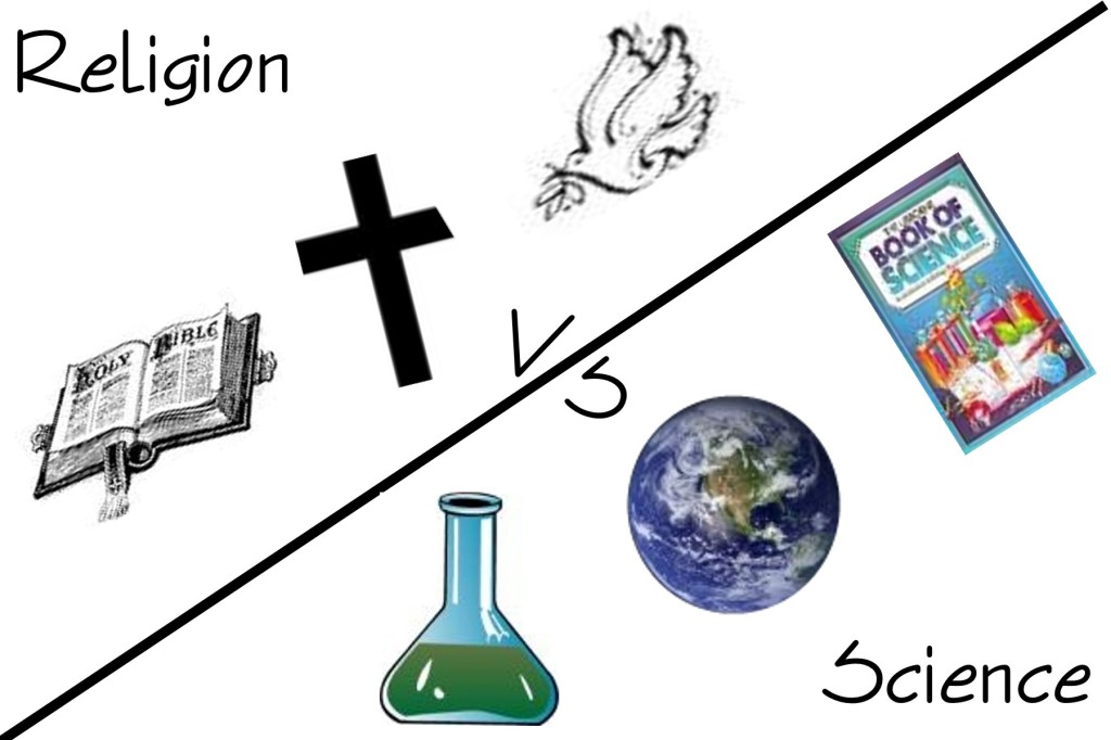 religion versus science Religion proponents say the universe is too finely tuned for life to not involve a god, while science proponents say we know how the universe formed from nothing.